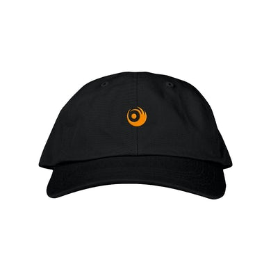 Lights Black Logo Hat
