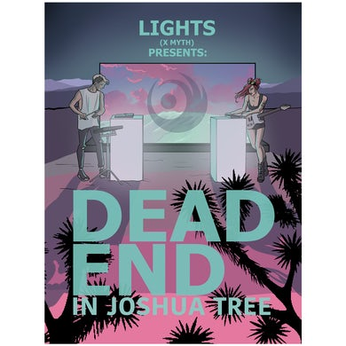 Lights Dead End In Joshua Tree Poster