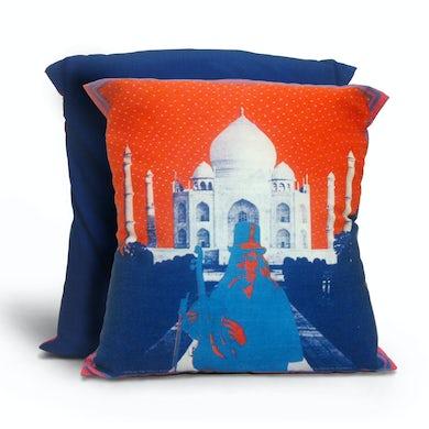 Family Dog Taj Mahal Pillow