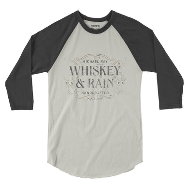 Michael Ray Whiskey & Rain Raglan