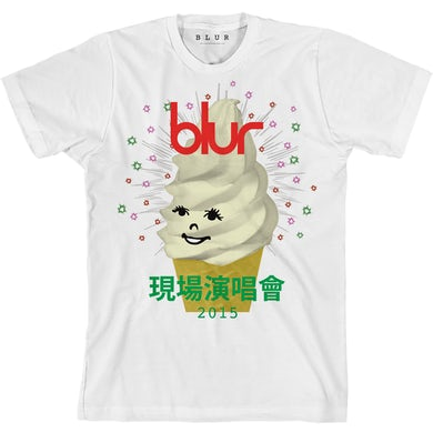 Blur Ice Cream White T-shirt