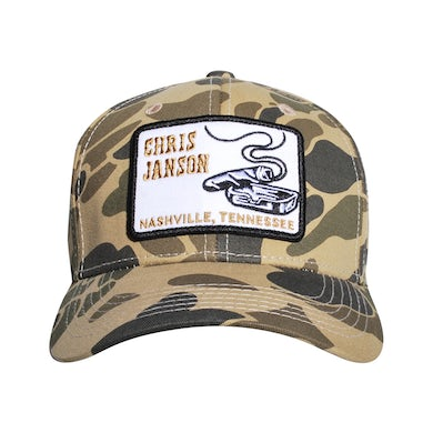 Chris Janson Camo Cigar Hat