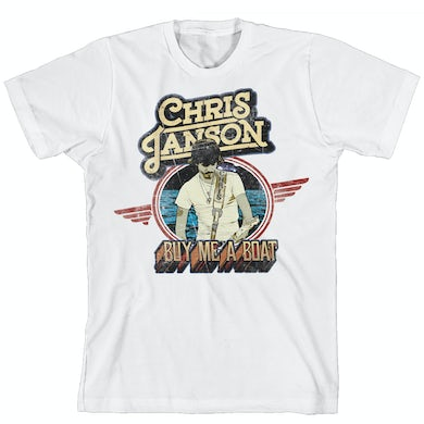 Chris Janson Vintage Wings T-Shirt