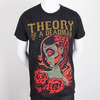 Theory of a Deadman Dead Girl Tee