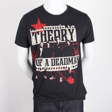 Theory of a Deadman Photo Scraps A Tee