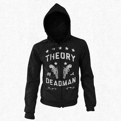 Theory of a Deadman Guns Blazing Zip Hoodie