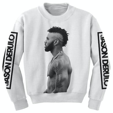 Jason Derulo Profile Crewneck Sweatshirt