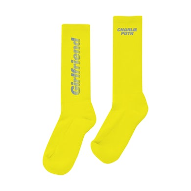 Charlie Puth Girlfriend Text Sock (Yellow)
