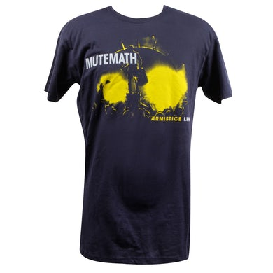 Mutemath Armistice Live Navy T-Shirt