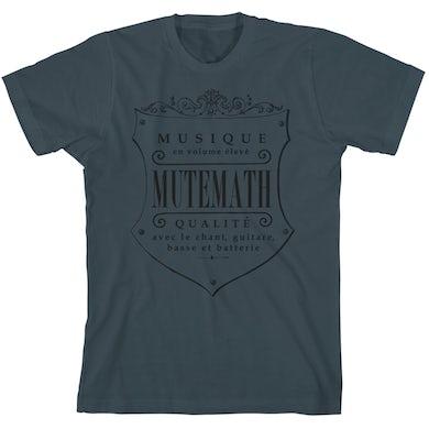 Mutemath MM Seal T-shirt (indigo)