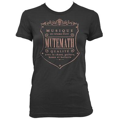 Mutemath MM Seal Juniors T-shirt (black)