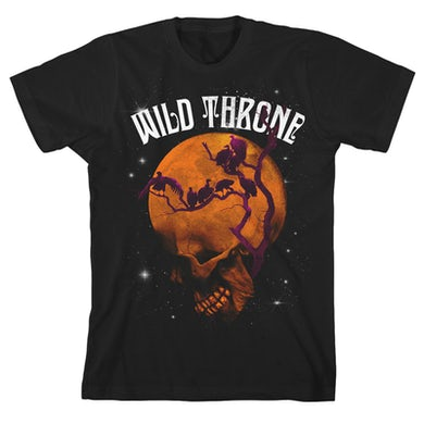 Wild Throne Moon Skull T-Shirt