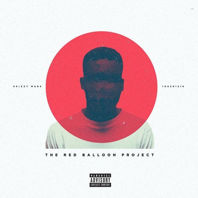 """Skizzy Mars """"The Red Balloon Project"""" CD"""