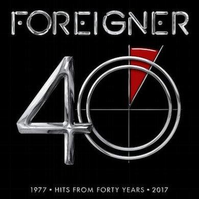 Foreigner 40 (2LP) (Vinyl)