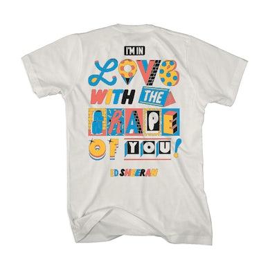 Ed Sheeran Shape Of You T-Shirt