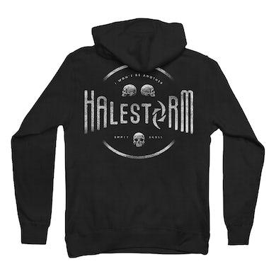Halestorm Stone Skulls Zip Hoodie