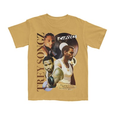 Circles Collage T-Shirt (Yellow)
