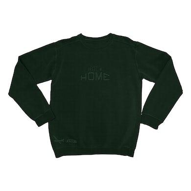 Back Home Green Sweatshirt