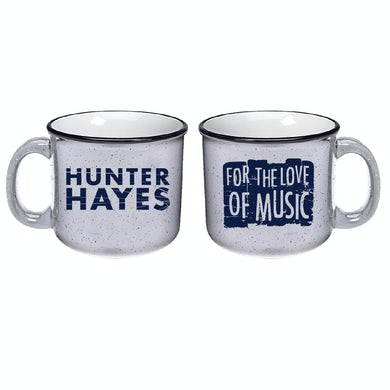 Hunter Hayes Love of Music Mug