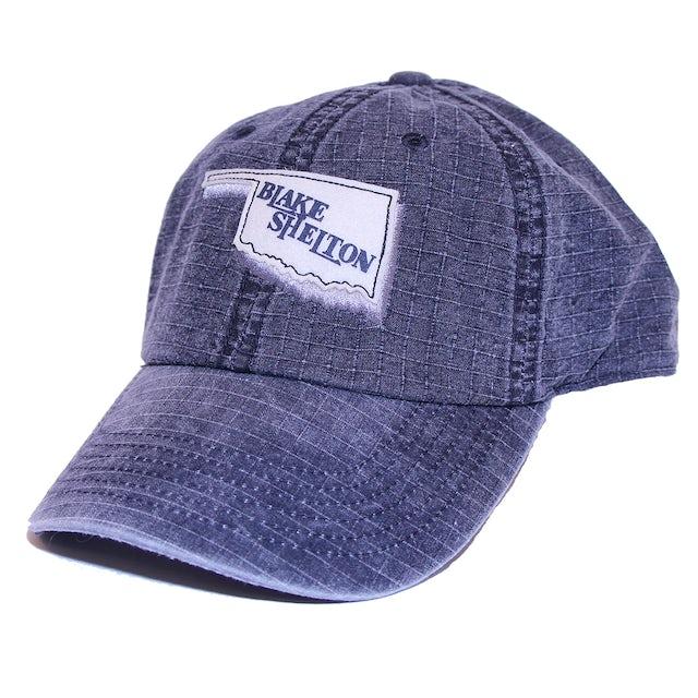 Blake Shelton Oklahoma Denim Blue Hat