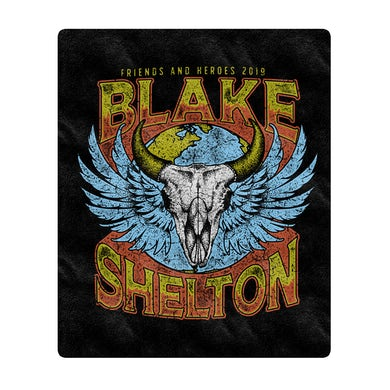 Blake Shelton Friends And Heroes Blanket