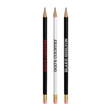 Blake Shelton God's Country Pencil Set
