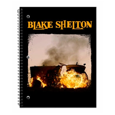 Blake Shelton God's Country Notebook