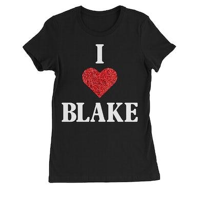 Blake Shelton I Heart Blake Women's T-Shirt