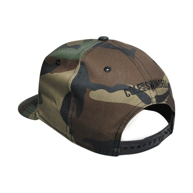 Cole Swindell CS Camo Logo Hat