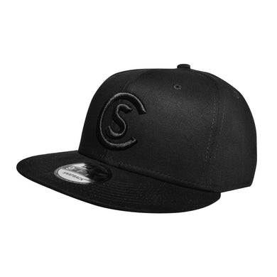 Cole Swindell CS Black Logo Hat