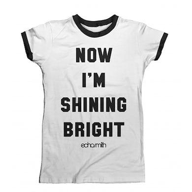 Echosmith Shining Bright Women's Ringer T-Shirt