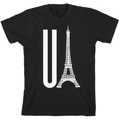 Gerard Way You Eiffel Black Unisex T-Shirt