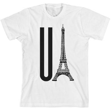 Gerard Way You Eiffel White Unisex T-Shirt