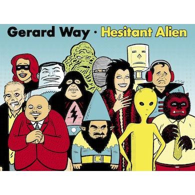 Gerard Way Gilbert's Aliens Silkscreen Poster