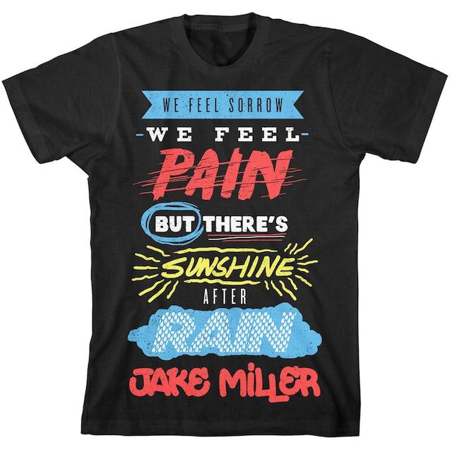 Jake Miller Sorrow and Pain T-Shirt