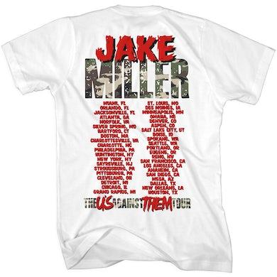 Jake Miller Us Against Them Tour T-Shirt