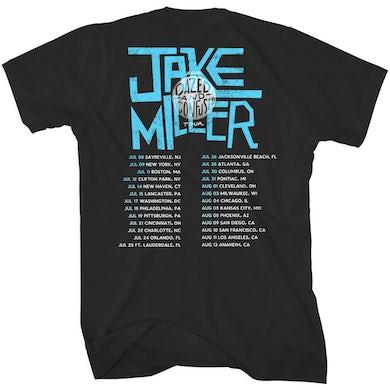 Jake Miller Beach Tour Back T-Shirt