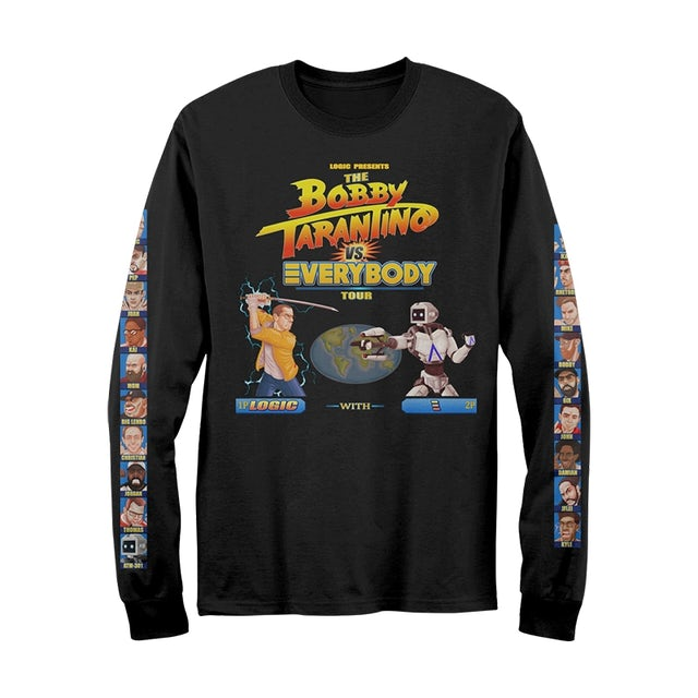 Logic Bobby Tarantino VS Everbody Long Sleeve T-Shirt