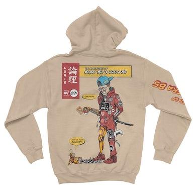 Logic Bobby & Ultra 85 Tan Hoodie