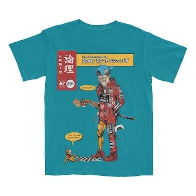 Logic Bobby & Ultra 85 Teal T-Shirt