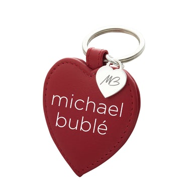 Michael Bublé Love Leather Keychain
