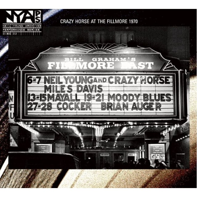 Neil Young Live At The Fillmore East LP (Vinyl)
