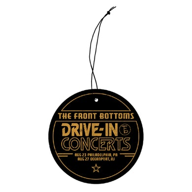 The Front Bottoms Drive In Concerts Air Freshner
