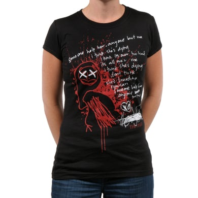 The Used She's Dying Junior's T-Shirt