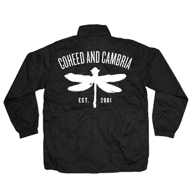 Coheed and Cambria Dragonfly Windbreaker Jacket