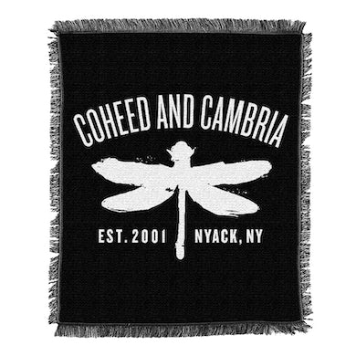 Coheed and Cambria Dragonfly Arch Blanket