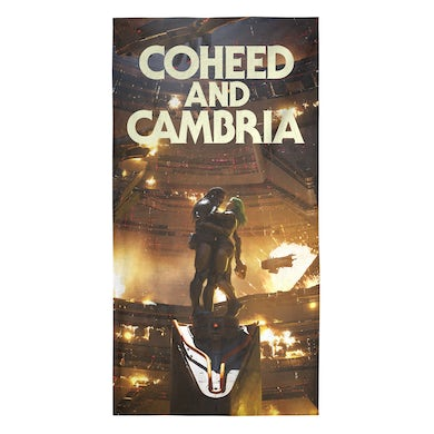 Coheed and Cambria Unheavenly Cover Towel