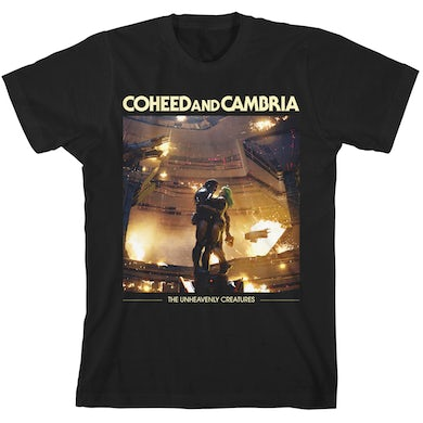 Coheed and Cambria Unheavenly Album Cover T-Shirt