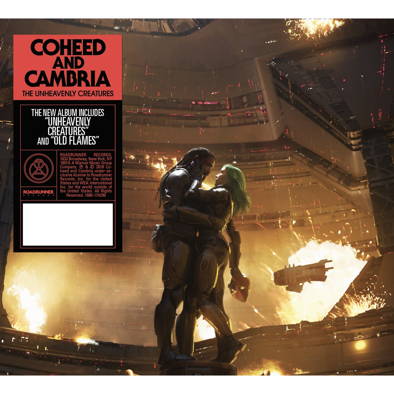 Coheed and Cambria Unheavenly Creatures (CD)