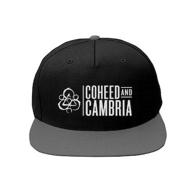 Coheed and Cambria CAC Logo Snapback Hat (Black/Grey)
